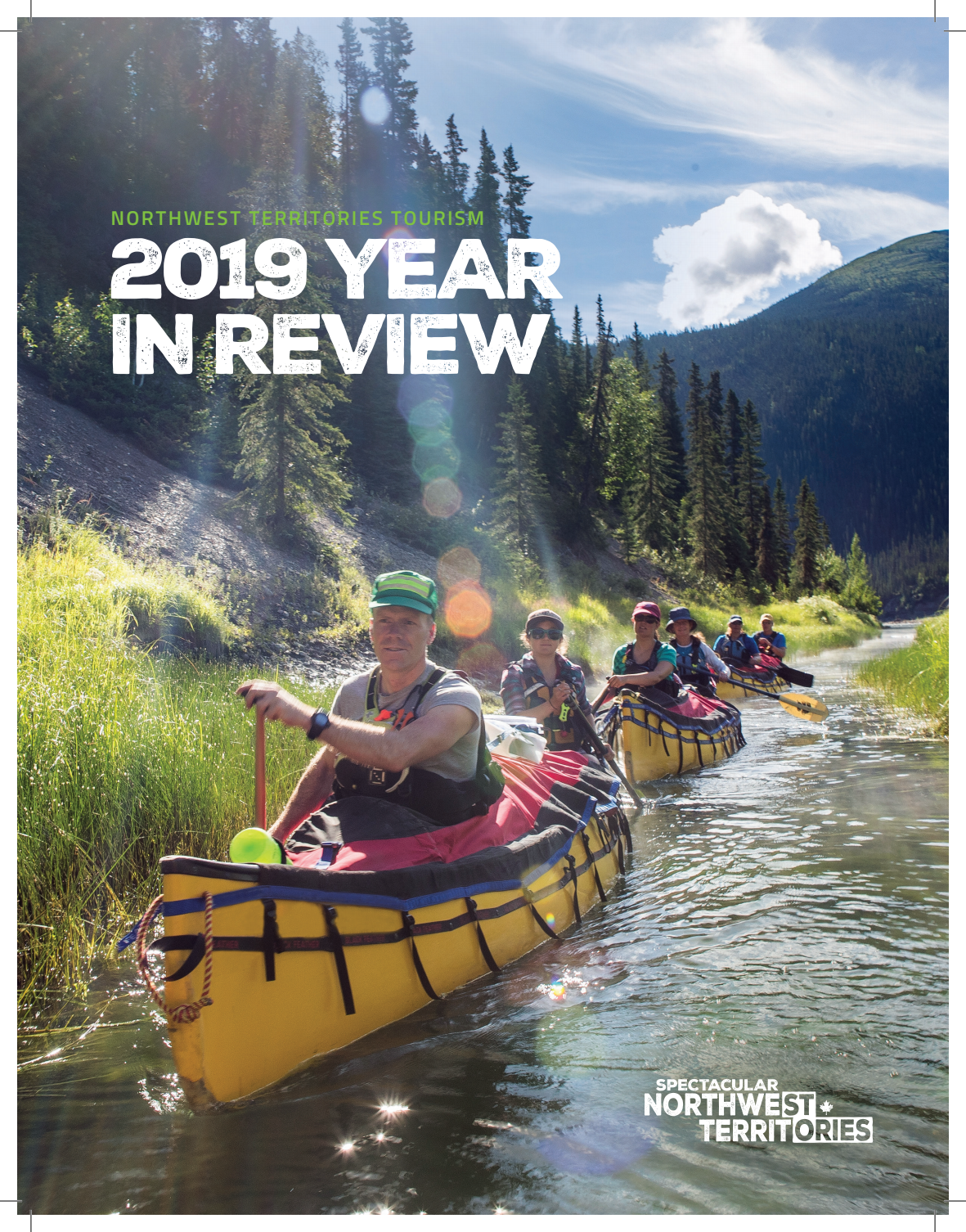 Northwest Territories Tourism 2019 Year in Review cover