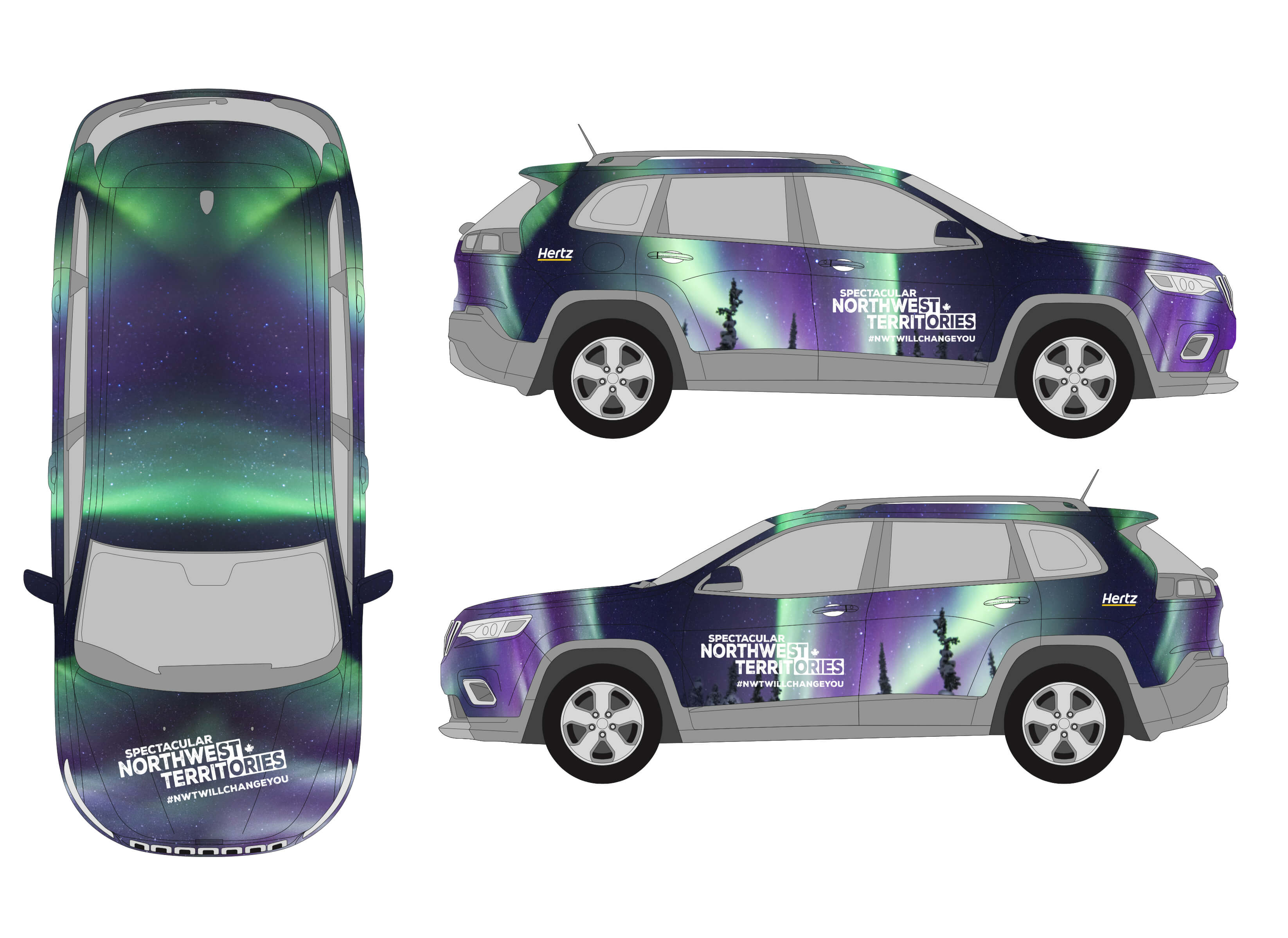 Spec NWTT Integrated Marketing Compaign - VR Jeep Wrap