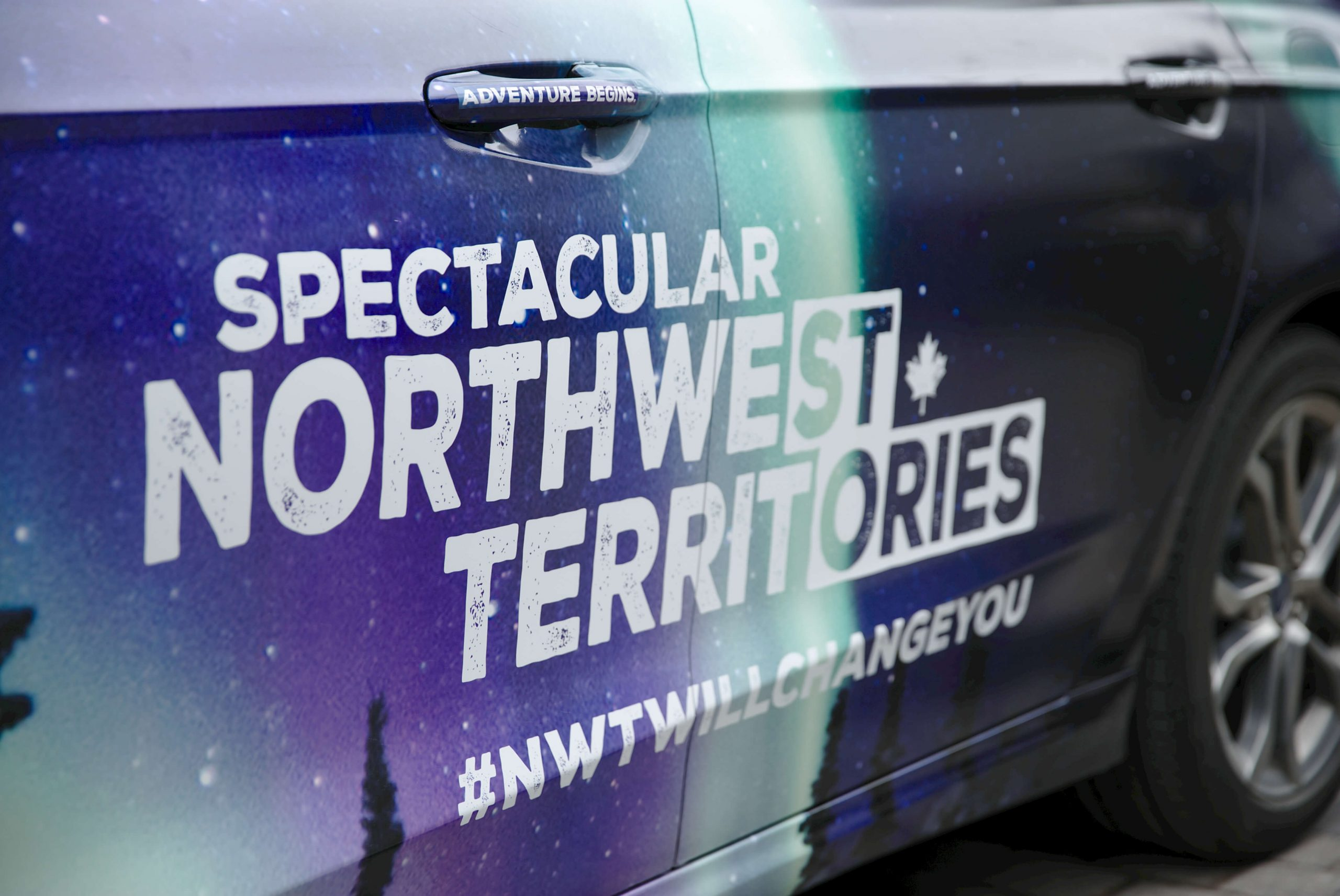 Spec NWTT Integrated Marketing Compaign - VR Car Wrap